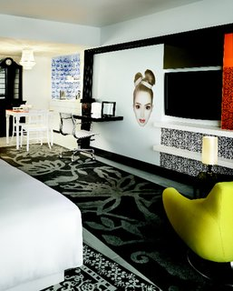 Wanders designed the Mondrian South Beach's vivid interiors in 2008.
