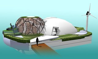Waterpod: A Nomad Habitation for the Climate Changed Future - Photo 1 of 1 -