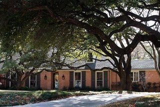 "The Bushes' ""Modest"" Dallas Manse - Photo 1 of 1 -"