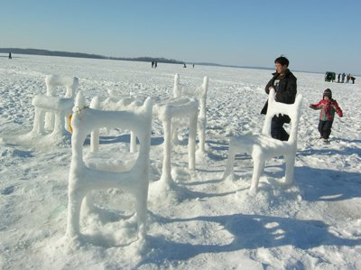 Ice and Snow Furniture