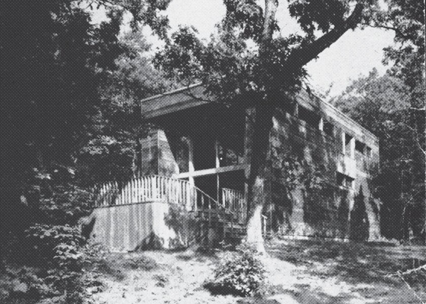 The exterior, as seen in the 1970s.  Photo 2 of 17 in Long Island Summer Home Gets a Modern Addition