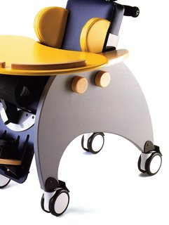 James Leckey Design's Woosh Chair is designed for children with cerebral palsy.