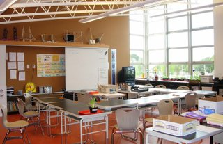 Chartwell School (classroom) in Seaside, California, by EHDD Architecture. Photo courtesy Chartwell School.