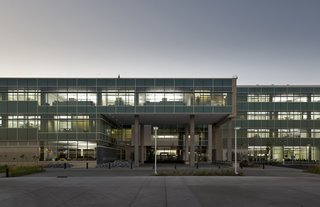 Top Ten Green Projects - Photo 7 of 20 - Great River Energy Headquarters (exterior view) in Maple Grove, Minnesota, by Perkins + Will. Photo by Lucie Marusin.