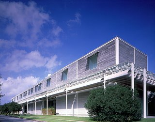 Houston, Texas - Photo 14 of 17 - The Menil Collection building by acclaimed architect Renzo Piano. Visit the Menil Collection online at menil.org. Image courtesy of the Greater Houston Convention and Visitors Bureau.