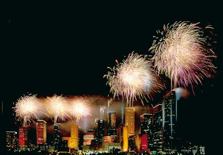 Houston, Texas - Photo 17 of 17 - Fireworks over Houston. Image courtesy of the Greater Houston Convention and Visitors Bureau.