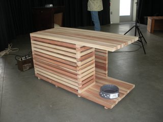 Lath House Doghouse - Photo 1 of 2 -