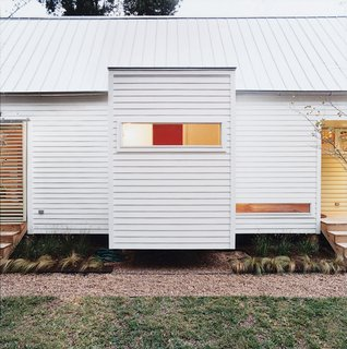 The Lowest Utility Bill on the Block - Photo 4 of 6 - The Shot-Trot's two bathrooms are housed in eight-by-eight cubes that cantilever off the main space while maintaining the preordained grid.