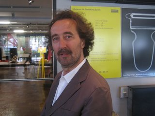 Andres Janser curated the Good Design, Good Business show at the Design Museum Zurich.