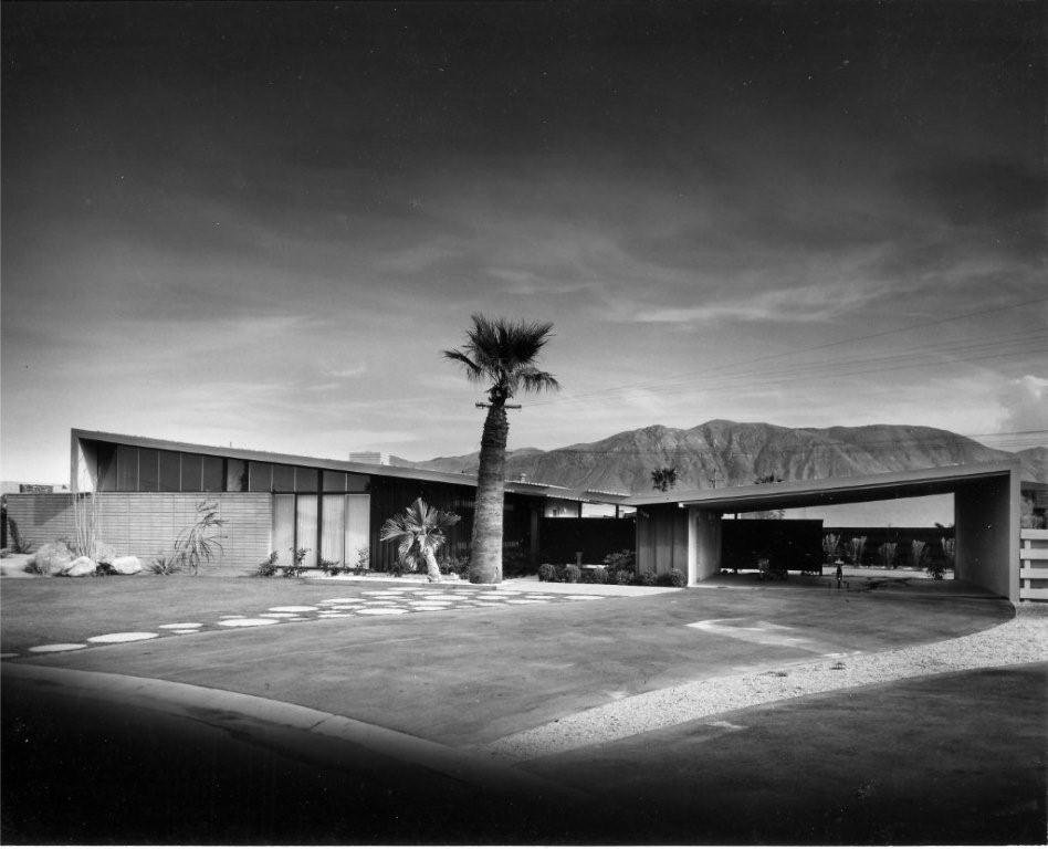 Twin Palms by William Krisel.  Photo 2 of 9 in Iconic California Midcentury-Modern Architect William Krisel Dies at 92 from Q&A with Illustrious California Architect William Krisel