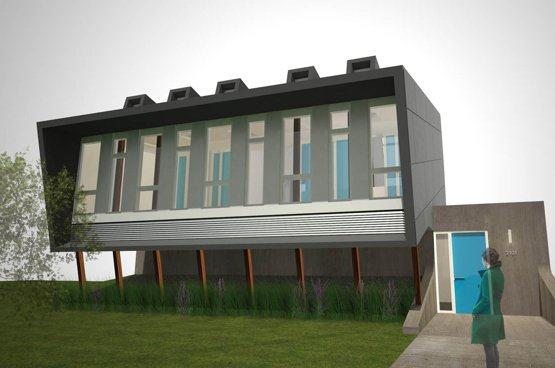 Draft House by Houminn  Photo 2 of 4 in Hometta: Affordable Modern Home Plans