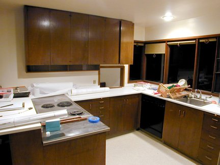 Anderson Remodel by Shed Architects. The kitchen before the renovation. Photos courtesy of the architects.  Photo 2 of 12 in Built-In Beauty