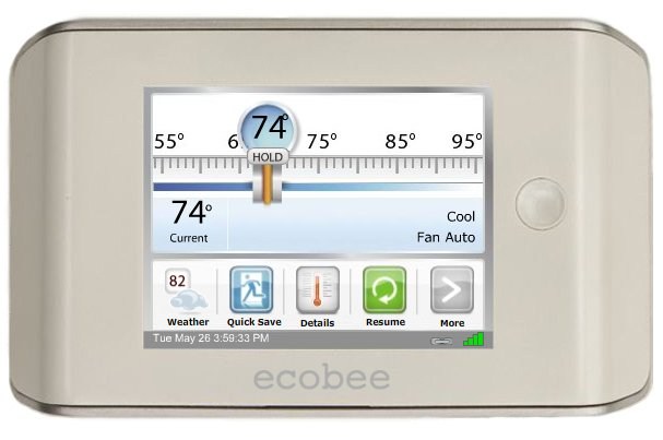 Photo 1 of 1 in ecobee Smart Thermostat