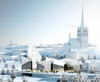 BIG to Design Tallinn City Hall - Photo 2 of 5 -