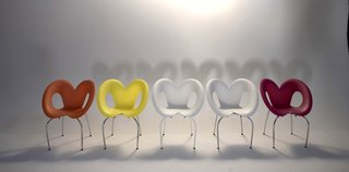 Ripple Chair (2006)PizzaKobra (2007)<br><br>Ron Arad Associates and the Museum of Modern Art