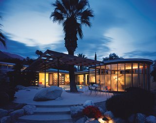 Marmol Radziner andAssociates have restored and augmented a number of classic homes by California's original modernists. This image: The Loewy house designed byAlbert Frey in 1946.