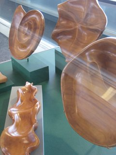 Accessories from the Oceana Wood Line, known for their organic shapes and natural form.