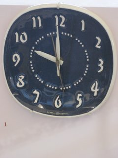 General Electric produced this clock.
