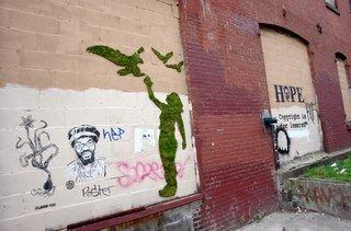 Unauthorized Moss Art