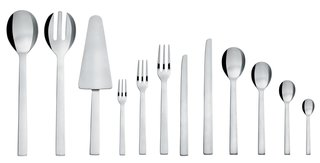 Alessi's Fall/Winter Collection - Photo 14 of 14 - Santiago cutlery, by David Chipperfield for Alessi.<br><br>English architect and designer David Chipperfield's Santiago cutlery has clean lines that would complement any modern kitchen.