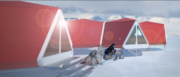 Mobile Cottages for Arctic Tourism