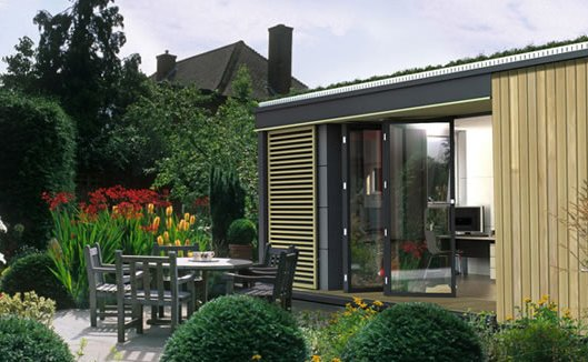 Shed & Studio and Living Space Room Type  Photo 1 of 4 in Pod Space Prefab Garden Sheds