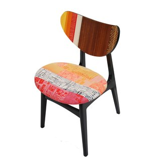 Live from London: Zoe Murphy - Photo 4 of 7 - A simple chair, re-covered and re-veneered.