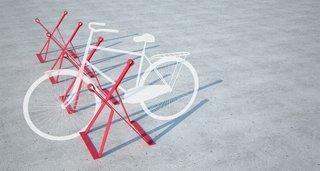 Bike Rack by Studio Tractor