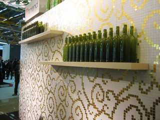 From Italy: Recycled Tile Wallpaper