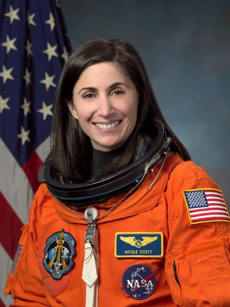 Astronaut Nicole Stott, mission specialist and flight engineer. Image courtesy of NASA.