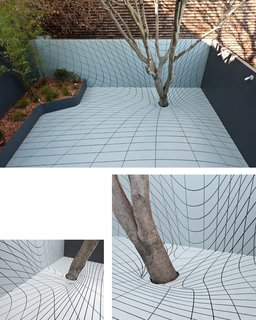 The Deformscape backyard in San Francsico, California, designed by Faulders Studio, winner of the New Practices San Francisco 2009 competition.
