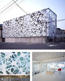 Airspace Tokyo designed by Faulders Studio, winner of the New Practices San Francisco 2009 competition.