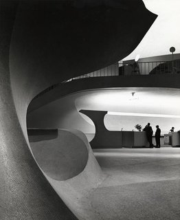 TWA Terminal, New York International (now John F. Kennedy International) Airport, New York, circa 1962. Photograph by Balthazar Korab. Image courtesy Balthazar Korab, Ltd.