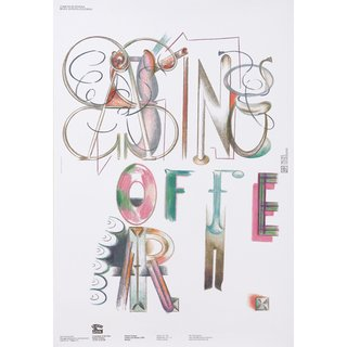 Poster designed by CalArts School of Art design faculty member Ed Fella.