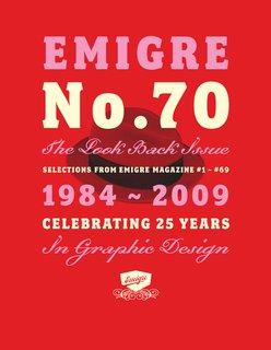 Emigre No. 70 - Photo 1 of 9 - Emigre No. 70, cover