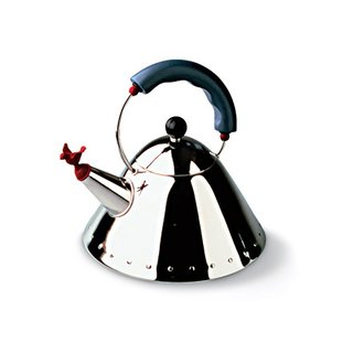 Events this Weekend: 12.31-1.3 - Photo 1 of 3 - Tea Kettle, for Alessi, Michael Graves (1985).