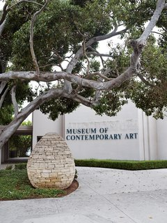 The Museum of Contemporary Art, which has two locations in the city: one carries work created since 1950 and is located in downtown San Diego, and the other, MCASD in Downtown, features site-specific installations by artists such as Jenny Holzer and Richard Serra.