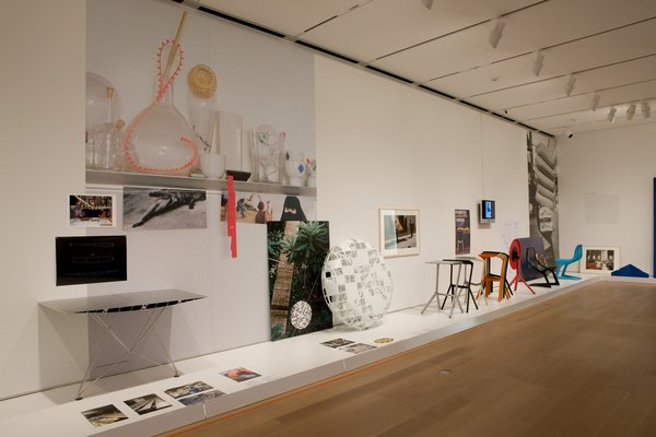 This photo, taken at the Art Institute of Chicago's Konstantin Grcic: Decisive Design show, which runs through January 24th, shows a variety of Grcic's work.  Photo 2 of 2 in Konstantin Grcic: Decisive Design