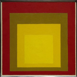 Study for 'Homage to the Square: Last Century'. Josef Albers, 1956