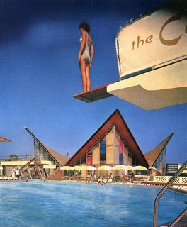 The Castaways Island Motel on Sunny Isles was a popular expression of tropical modernism.
