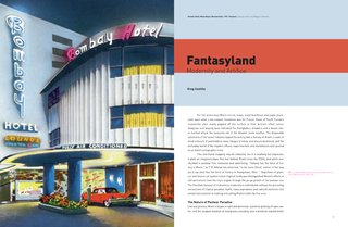 "A 1951 postcard of the Bombay Hotel on Miami Beach helps illustrate Greg Castillo's essay ""Fantasyland"" which concerns how Miami was portrayed in the mid-century media."