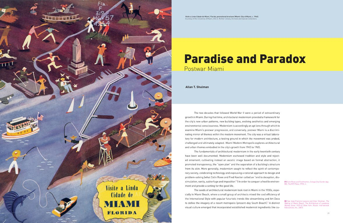 """Paradise and Paradox"" is the overriding theme of Miami Modern Metropolis, one examined from dozens of design and urbanistic lenses.  Photo 12 of 13 in Miami Modern Metropolis"