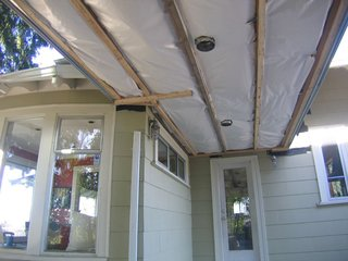 The architects designed the addition to allow for studs and joists to be placed every 24 inches, rather than standard 16-inch spacings, which reduced the amount of lumber used by 30 percent while still providing ample structural support.