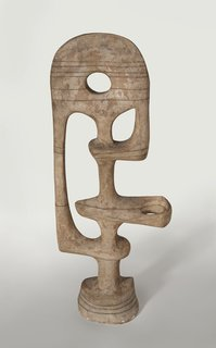 Presence (1947), sculpted by Adaline Kent. From the SFMoMA Collection; gift of the Women's Board and the Membership Activities Board. On display as part of the SFMoMA's 75 Years of Looking Forward: The Anniversary Show exhibit, on view through January 16, 2011.