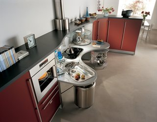 Snaidero Universal Design Kitchens - Photo 7 of 8 - Though the Skyline kitchen was designed specifically for use by individuals in wheelchairs, the idea was to create a kitchen that can be used by everyone, highlighting the goal of universal design.