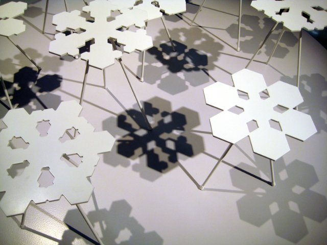 Photo 2 of 3 in From Stockholm: Snowflakes Tables