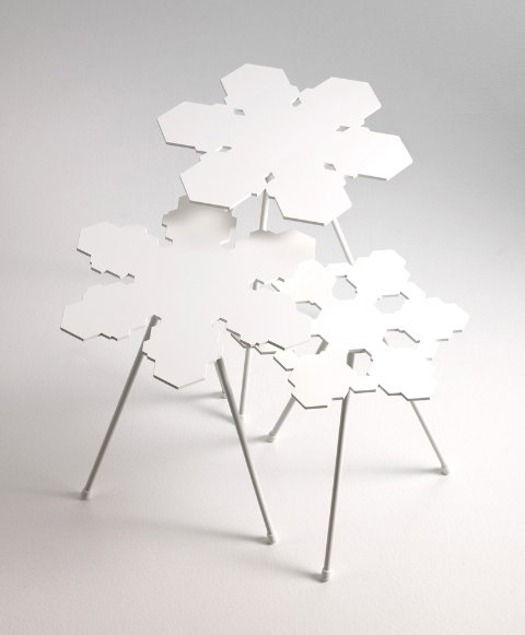 Photo 1 of 3 in From Stockholm: Snowflakes Tables