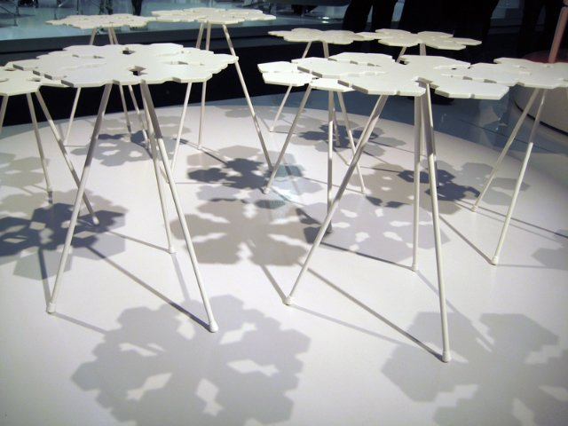 Photo 3 of 3 in From Stockholm: Snowflakes Tables
