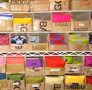 Baggu is the result of a mother-daughter collaboration to make a dent in reducing the use of plastic bags. Their reusable bags are on sale at baggubag.com.