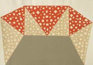 interior, 2008. collage on paper